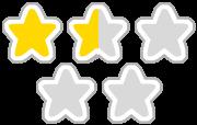 星1.5つ