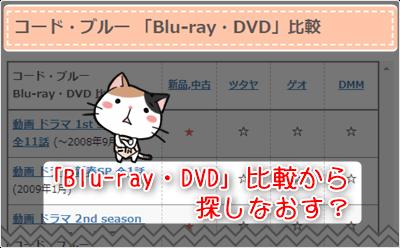 コード・ブルー -「Blu-ray・DVD」比較から探しなおす?