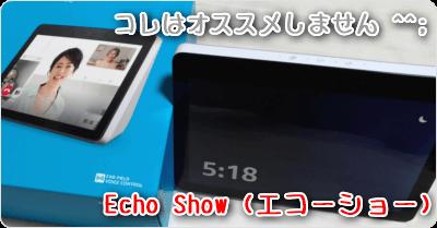 Echo Show (エコーショー)