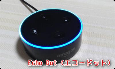 Echo Dot (エコードット)