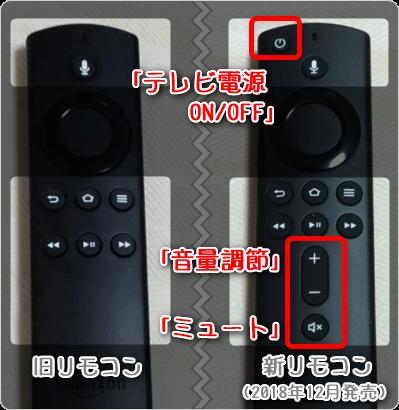 「テレビ電源ON/OFF」「音量調節」